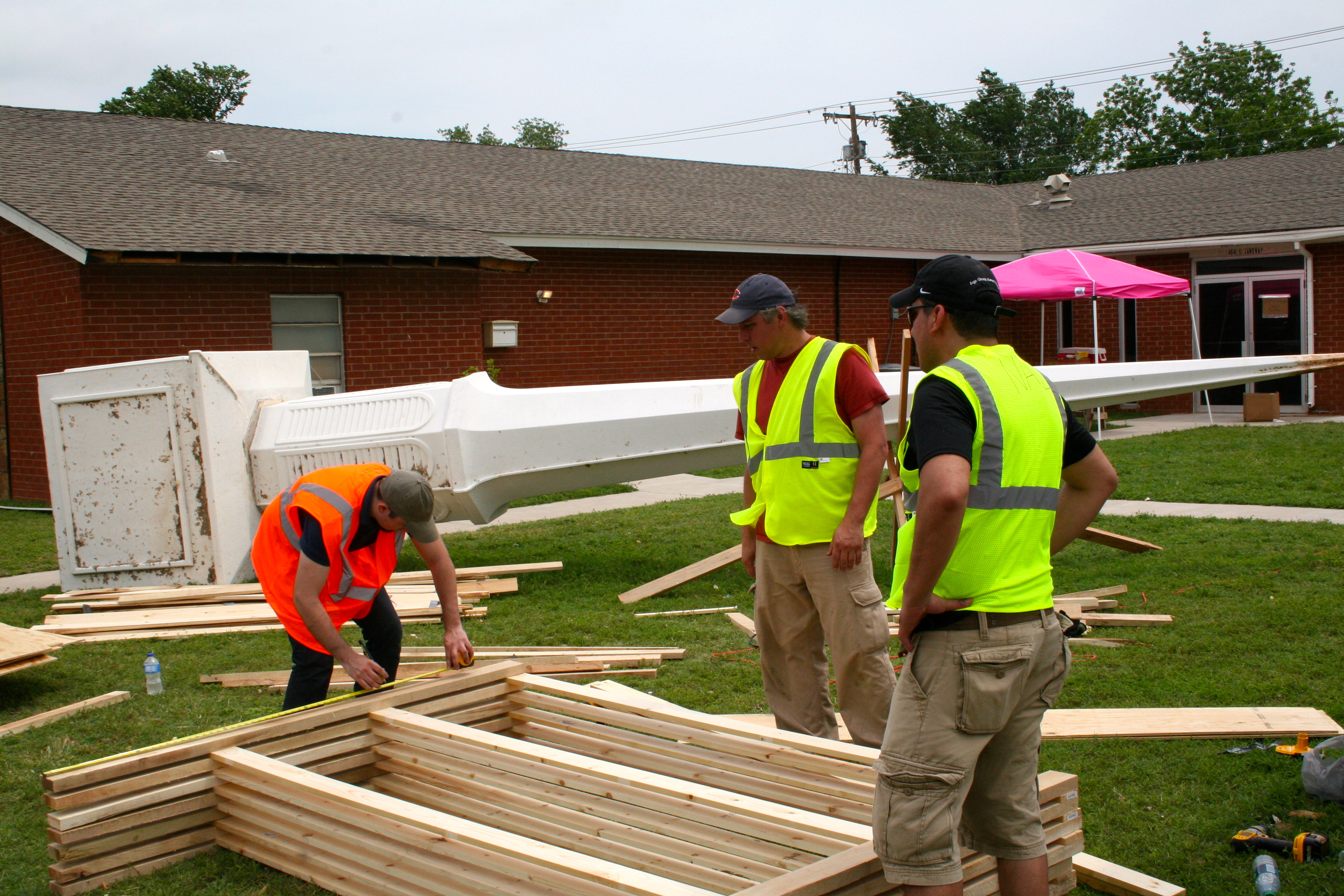 Work at Moore Nazarene Church